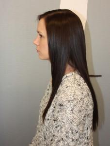 Hair contrast hair extensions Trondheim