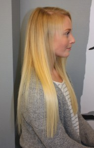 Click on hair extensions Trondheim