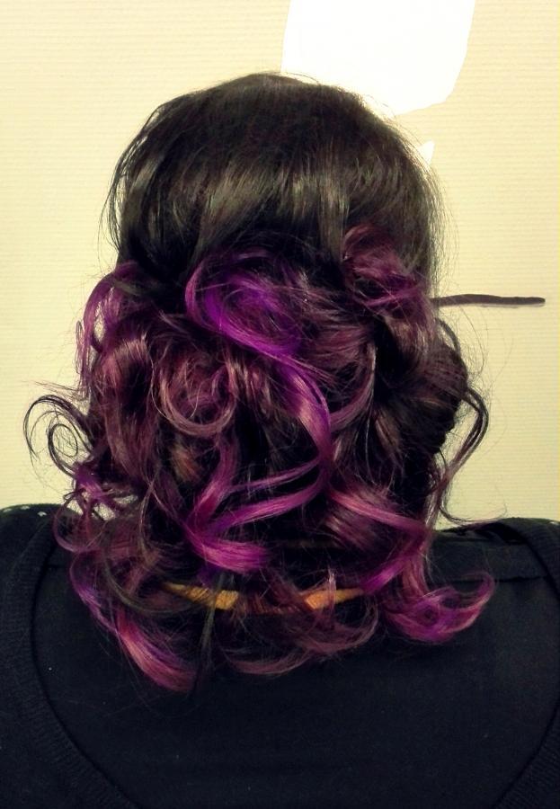 Crazy violet