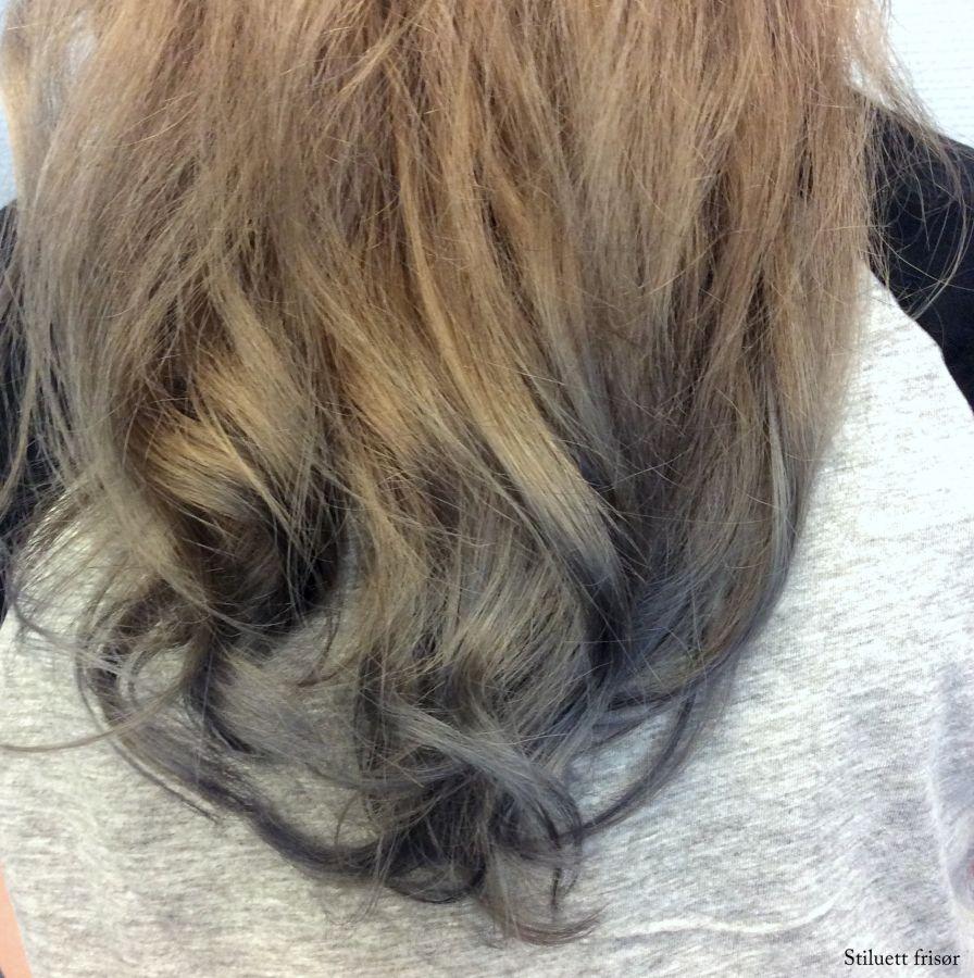 Granny hair balayage
