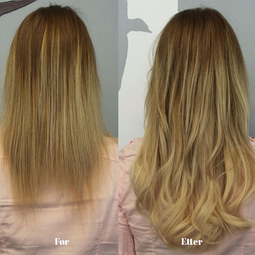 hair extensions frisør