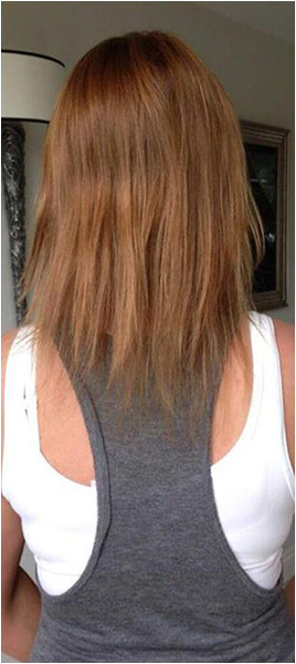 Hair extension med Great Lengths i Trondheim.