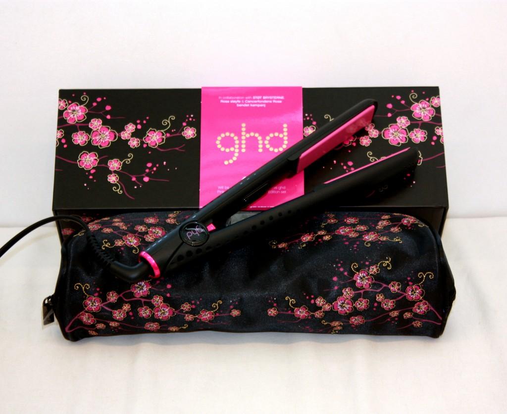 GHD pink cherry blossom Trondheim